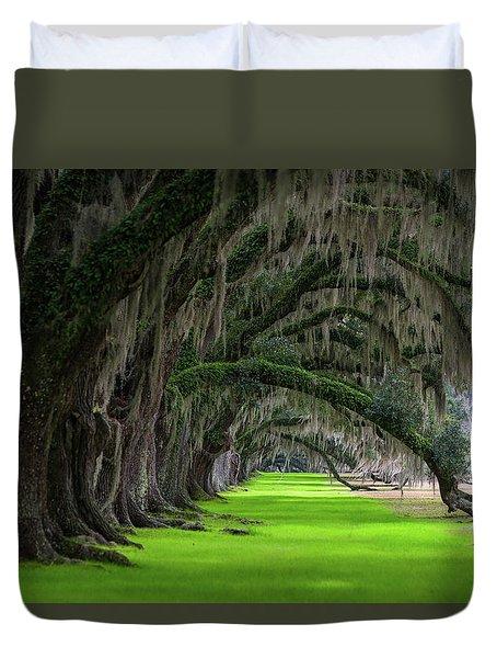 Southern Oaks Duvet Cover