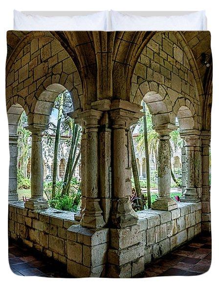 Spanish Monastery Duvet Cover