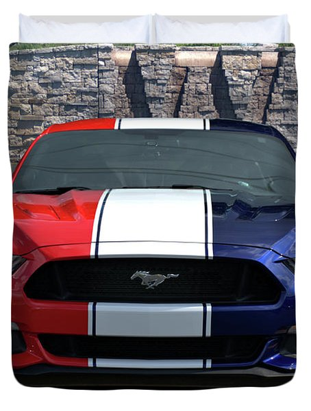 Special Edition 2016 Ford Mustang Duvet Cover