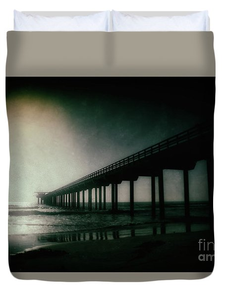 Spotlight On Scripps Duvet Cover