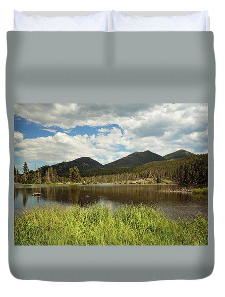 Sprague Lake Duvet Cover