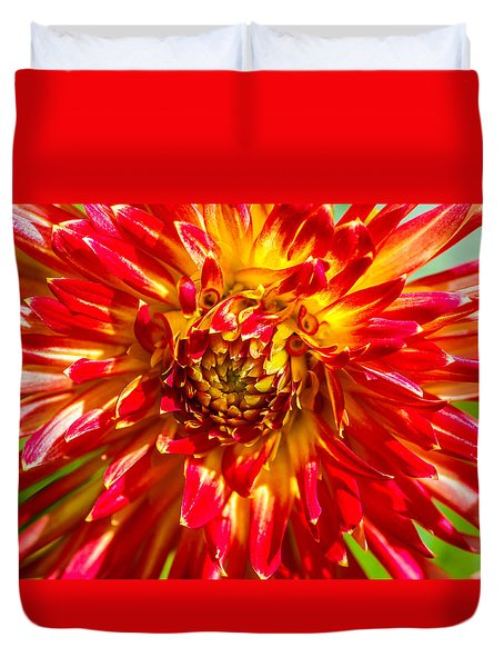 Spring Bloom Duvet Cover