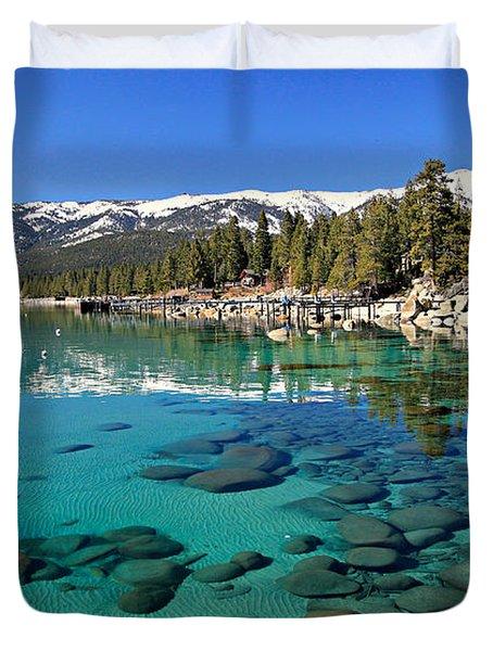 Spring Clarity Duvet Cover