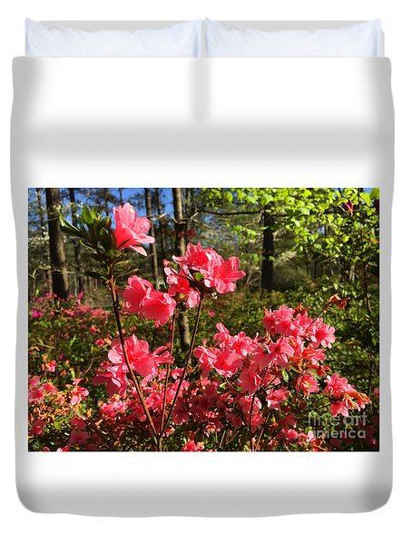 Spring Is In The Air Duvet Cover