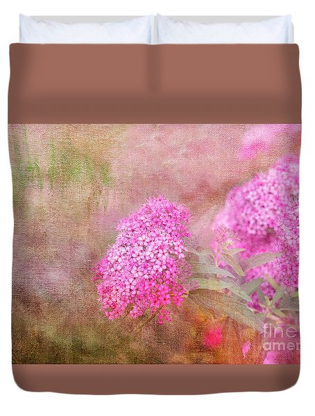 Duvet Cover featuring the photograph Springtime by Betty LaRue