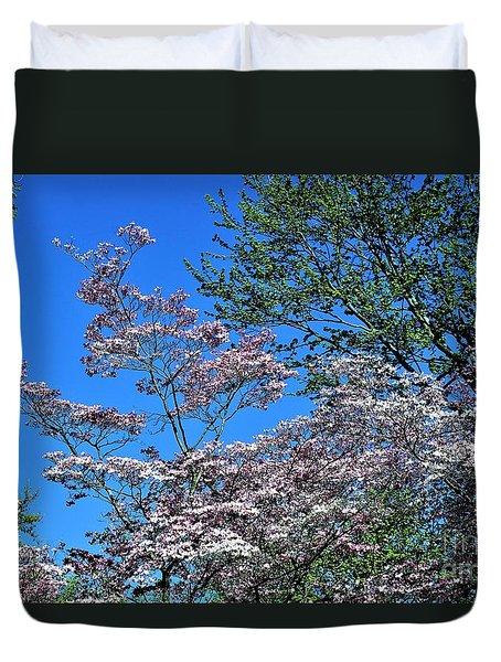 Springtime In Louisville Duvet Cover