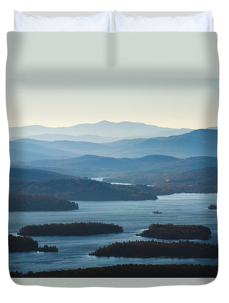 Squam Lake Duvet Cover