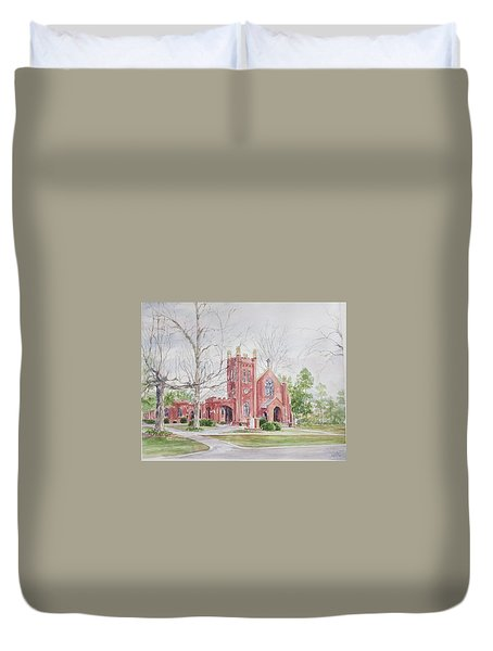 St. David's Episcopal Church Duvet Cover