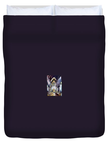 St Johns Cathedral Limerick Ireland Duvet Cover