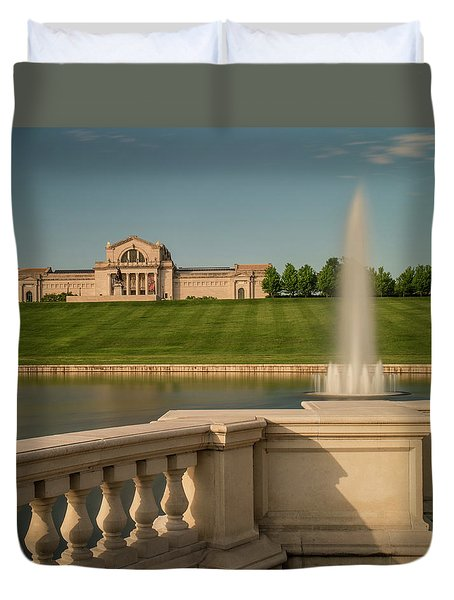St Louis Art Museum In Forest Park Duvet Cover