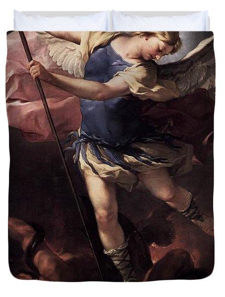 St. Michael Duvet Cover