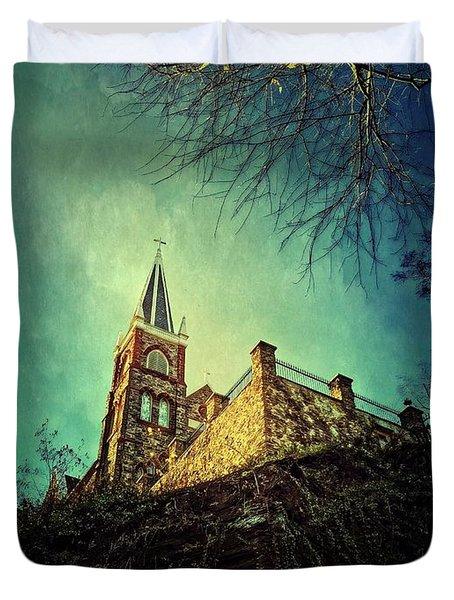 St. Peter's Harpers Ferry Duvet Cover