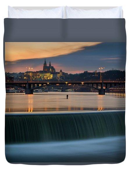 St. Vitus Cathedral, Prague, Czech Republic Duvet Cover