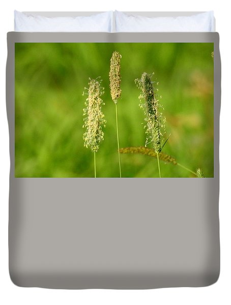 Duvet Cover featuring the photograph Standing Tall by Betty-Anne McDonald