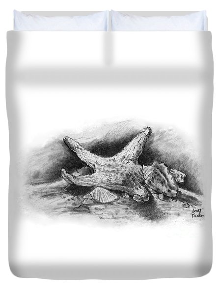 Star Fish Duvet Cover
