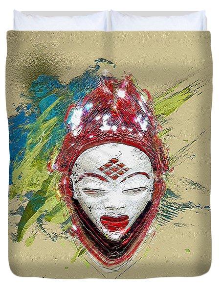 Star Spirits - Maiden Spirit Mukudji Duvet Cover