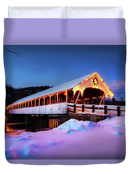Stark New Hampshire Duvet Cover by Robert Clifford