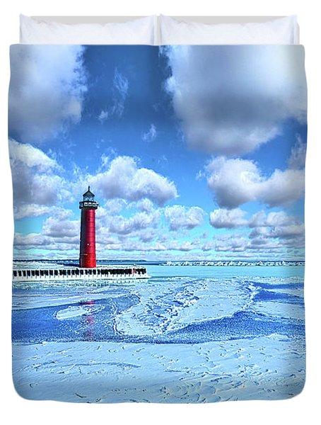 Duvet Cover featuring the photograph Steadfast by Phil Koch
