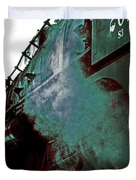 Steam Town 261 Scranton Tobyhanna Pa Duvet Cover
