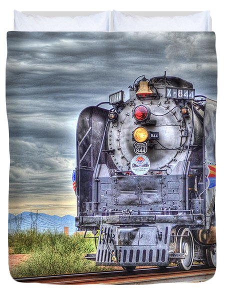 Steam Train No 844 Duvet Cover
