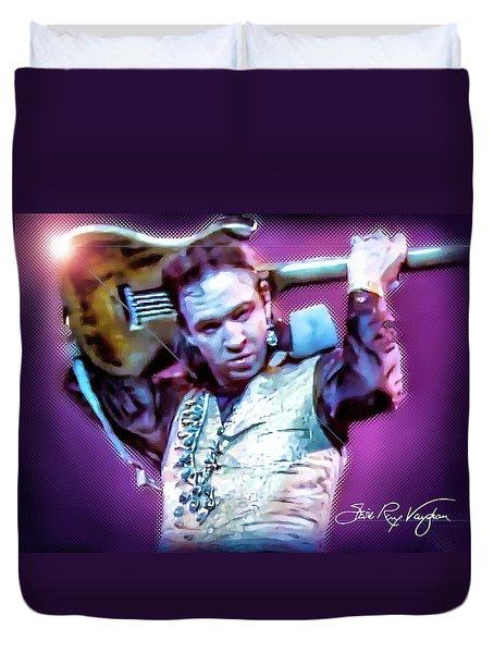 Stevie Ray Vaughan - Love Struck Baby Duvet Cover