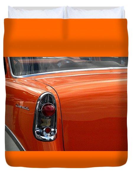 Still Cruisin Duvet Cover by Angela Davies