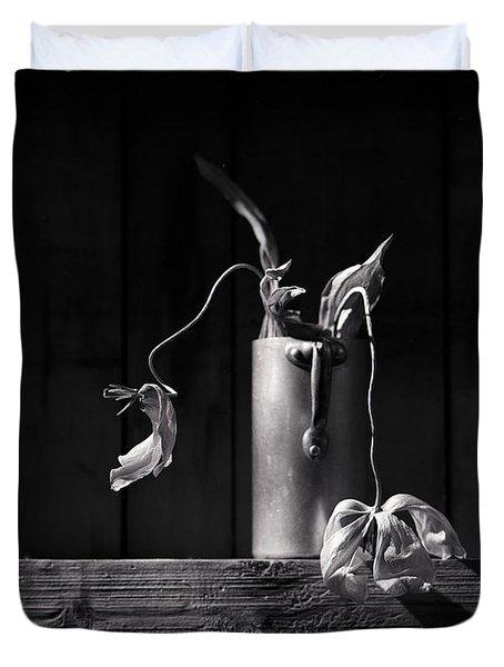 Still Life With Tulip Duvet Cover