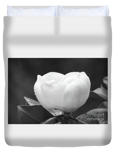Study In Black And White Duvet Cover