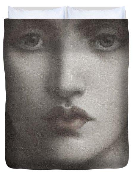 Study Of Jane Morris Duvet Cover