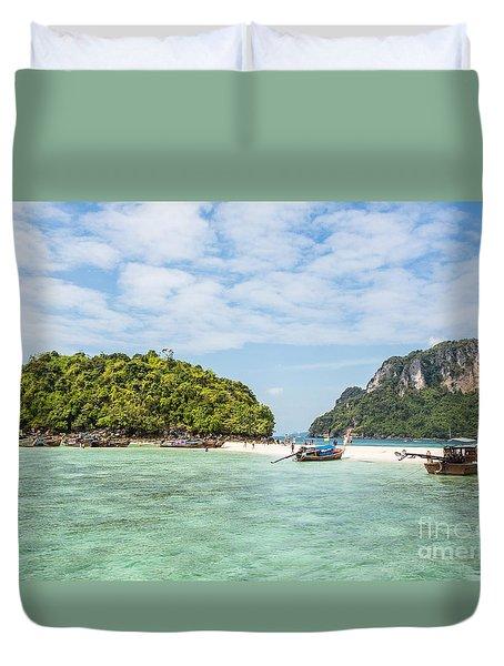 Stunning Krabi In Thailand Duvet Cover