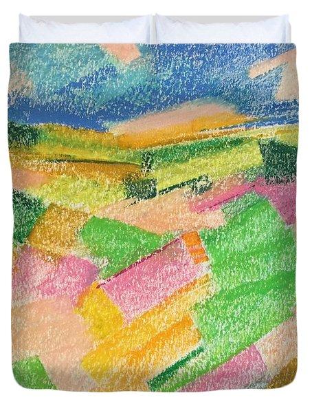 Summer Fields  Duvet Cover