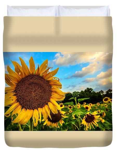 Summer Suns  Duvet Cover