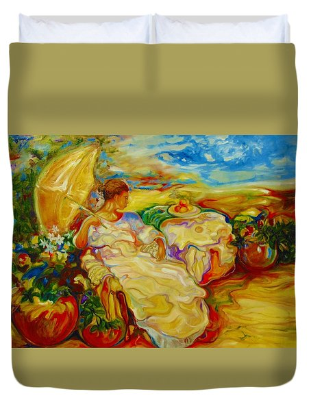 Sun Set Duvet Cover