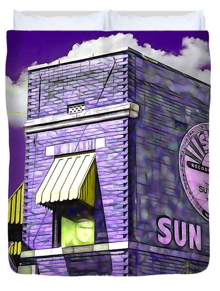 Sun Studio Collection Duvet Cover by Marvin Blaine