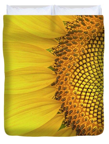 Sunflower Petals Duvet Cover