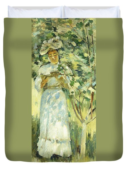 Sunlight And Shadows Duvet Cover