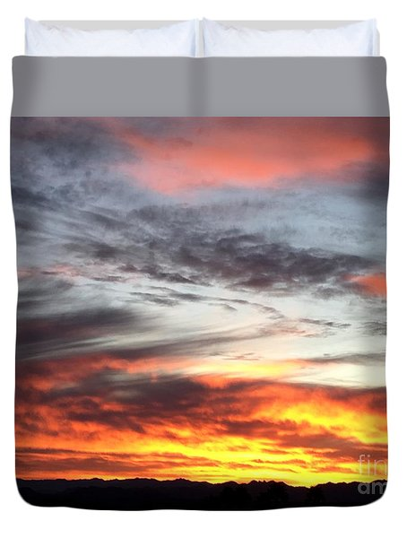 Sunrise Collection #4 Duvet Cover
