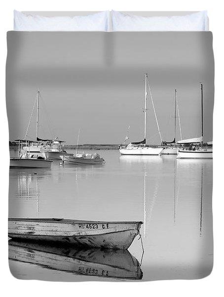 Sunrise In Osterville Cape Cod Massachusetts Duvet Cover by Matt Suess