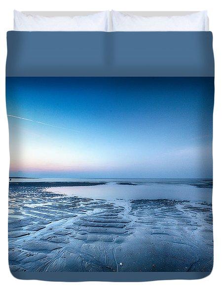 Blue Sunrise Duvet Cover