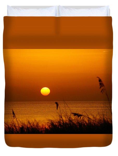 Sunrise Sea Oats Duvet Cover