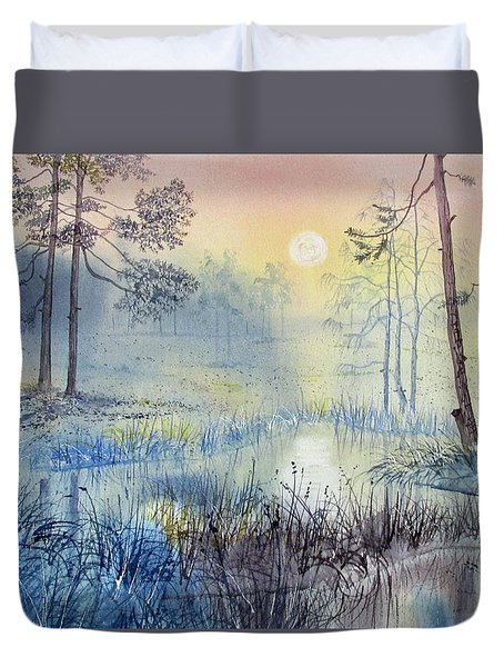 Sunrise To Serenity Duvet Cover