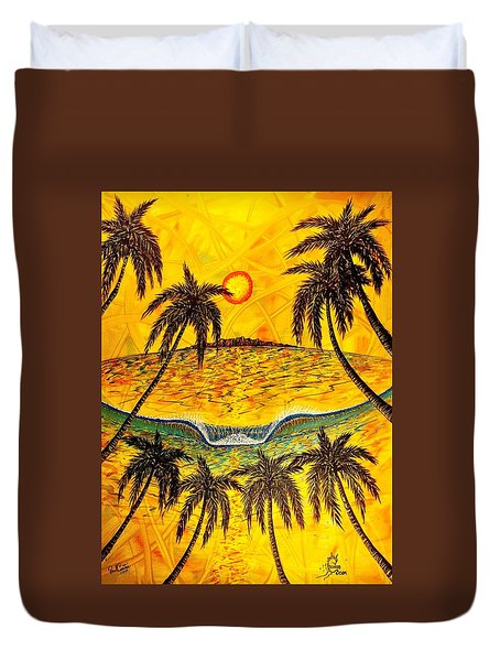 Sunset Dream Duvet Cover