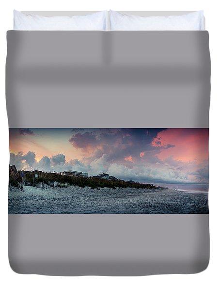 Sunset Emerald Isle Crystal Coast Duvet Cover