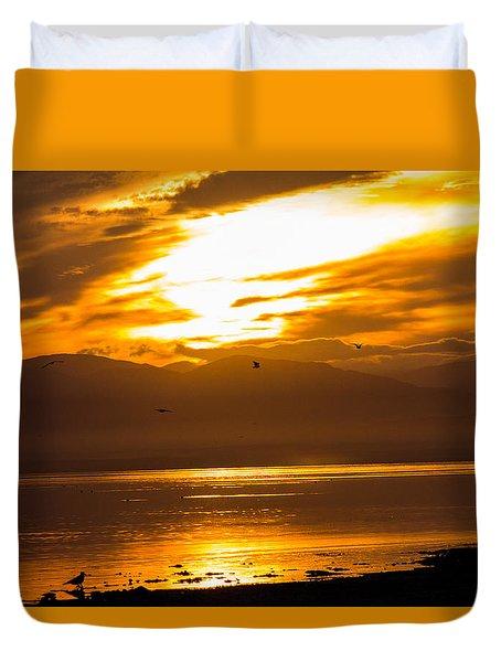 Sunset Duvet Cover by Hyuntae Kim