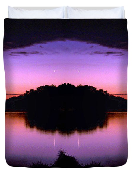 Sunset Kiss Duvet Cover