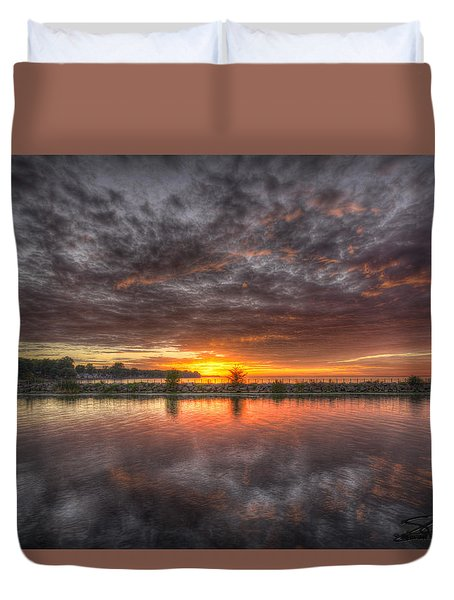 Sunset Point Duvet Cover