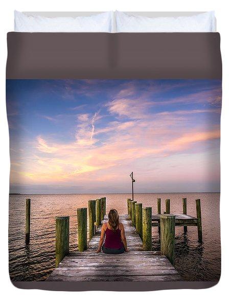 Sunset Serenade Duvet Cover