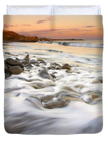 Sunset Tides Duvet Cover