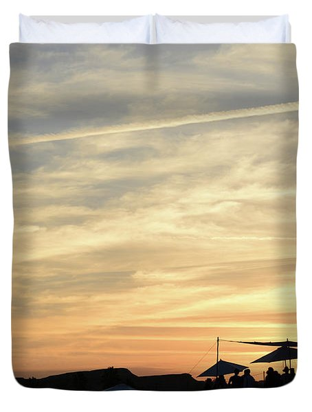 Sunset View Duvet Cover
