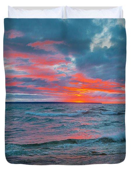 Superior Sunset Duvet Cover